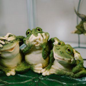 Веселые жабусики от Sealmark