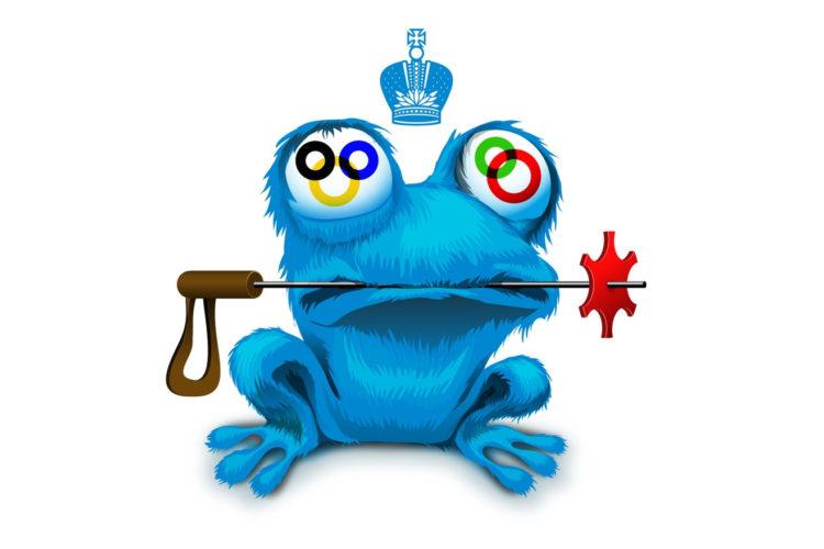 Жаба Зойч – неофициальный талисман Олимпиады 2014. МУзей ЛЯгушек и Жаб