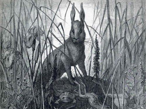 Лягушки в живописи. Часть 2.